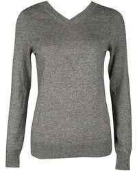 Isabel Marant - Etoile Melange Knit V Neck Sweater M - Lyst