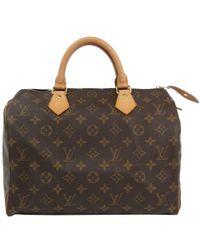 Louis Vuitton - Monogram Canvas Speedy 30 Bag - Lyst