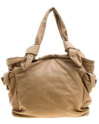 Marc By Marc Jacobs - Camel Leather Shoulder Bag - Lyst