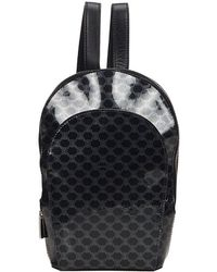 Céline Black Cloth Backpack