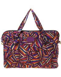 Marc By Marc Jacobs Multicolore Quilted Nylon Laptop Bag - Multicolour