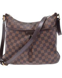 Lyst - Louis Vuitton Monogram Canvas Shoulder Bag M40106 Messenger ... 90aa2a0297db2