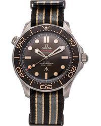 Omega Black Titanium Seamaster Diver 300m 007 Edition 210.92.42.20.01.001 Wristwatch 42 Mm