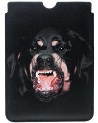 Givenchy - Coated Canvas Rottweiler Ipad Mini Case - Lyst