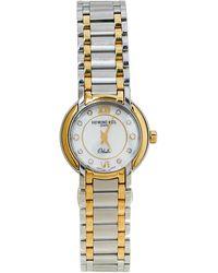 Raymond Weil White Stainless Steel Diamonds Othello 2320-stg-00985 Wristwatch 25mm