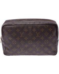 Louis Vuitton Monogram Canvas Trousse Toilette 28 Cosmetic Case