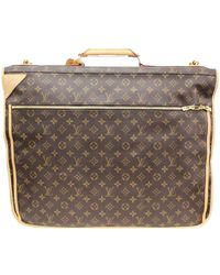 Louis Vuitton Monogram Canvas Garment Bag - Brown