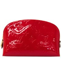 Louis Vuitton - Cherry Monogram Vernis Cosmetic Pouch - Lyst