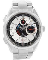 Omega Silver Stainless Steel Seamaster Aqua Terra Nzl-32 Regatta Chronograph 2513.30.00 Men's Wristwatch 42.2mm - Metallic