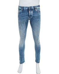 DSquared² Blue Denim Twist Jeans