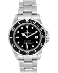 Rolex Black Stainless Steel Submariner 14060 Men's Wristwatch 40mm