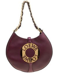 Loewe - Leather Medium Joyce Shoulder Bag - Lyst