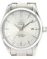 Omega Silver Stainless Steel Seamaster Aqua Terra 2503.30 Men's Wristwatch 39mm - Metallic