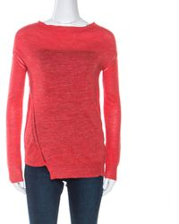 Zadig & Voltaire Red Marl Knit Roni Wl Jumper