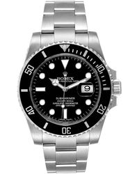 Rolex Green Stainless Steel Submariner Hulk 116610lv Men's Wristwatch 40mm
