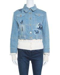Dior Blue Cotton Jacket
