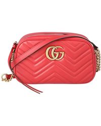 Gucci - Red GG Marmont - Lyst