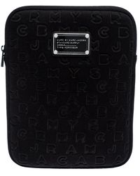 Marc By Marc Jacobs Black Neoprene Ipad Case