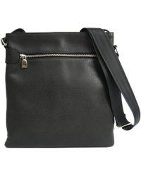4bbe6c26087e Lyst - Louis Vuitton Auth Beloukha Shoulder Bag M30912 Taiga Nylon ...