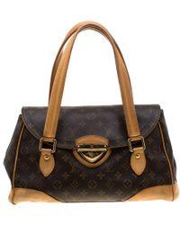 Louis Vuitton - Monogram Canvas Beverly Gm Bag - Lyst