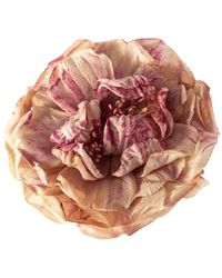 Gucci Dusty Pink Silk Flower Brooch