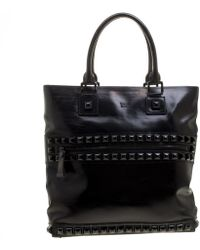 Burberry Black Leather Bag