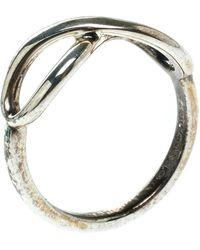 Tiffany & Co. Infinity Silver Ring Size 48 - Metallic