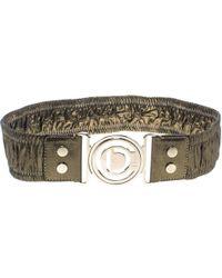 Dior - Shimmering Elastic Leather Belt S - Lyst