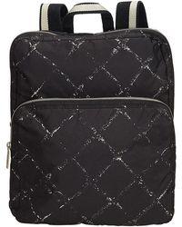 Chanel Black Nylon Old Travel Line Backpack