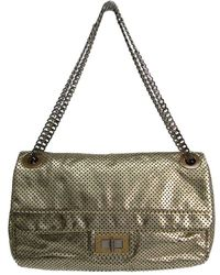 09f8fd578847c Chanel - Drill Perforated Leather 2.55 Reissue Classic Flap Bag - Lyst