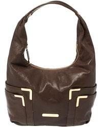 Michael Kors Brown Leather Hobo