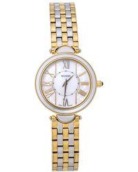 Balmain Mop Two-tone Stainless Steel Haute Elegance 8072 Women's Wristwatch 27 Mm - Metallic