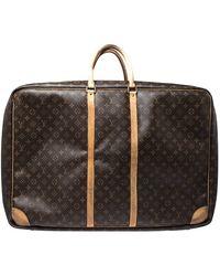 Louis Vuitton Monogram Canvas Sirius 70 Suitcase - Brown