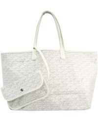 Goyard Saint-louis White Cloth Handbag