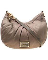 Marc By Marc Jacobs - Khaki Fabric And Leather Shoulder Bag - Lyst