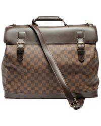 Louis Vuitton Damier Ebene Canvas Centenaire West End Travel Bag - Brown