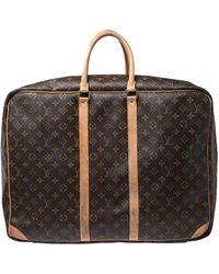 Louis Vuitton Monogram Canvas Sirius 55 Suitcase - Brown