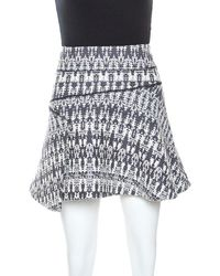 Derek Lam - 10 Crosby Multicolor Knit Mini Skirt - Lyst