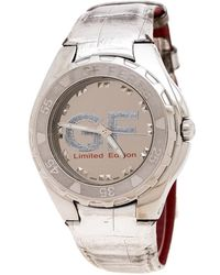 Gianfranco Ferré Silver-plated Stainless Steel 9040j Limited Edition Wristwatch 44mm - Metallic