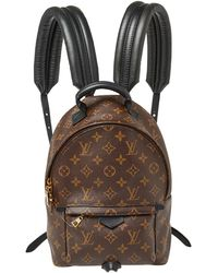 Louis Vuitton Monogram Canvas Palm Springs Pm Backpack - Brown