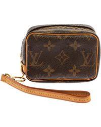 Louis Vuitton Pre-owned Monogram Trousse Wapity - Brown