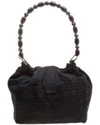 Dior Black Nylon Bucket Bag