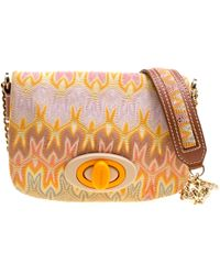 Missoni - Woven Fabric Shoulder Bag - Lyst