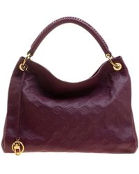 Louis Vuitton - Aurore Monogram Empreinte Leather Artsy Gm Bag - Lyst