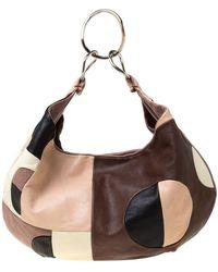 Marni Multicolour Leather Hobo