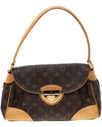 Louis Vuitton - Monogram Canvas Beverly Mm Bag - Lyst