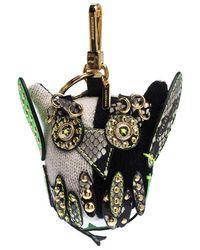 Burberry Mavis The Owl Multicolor Knit Embellished Bag Charm
