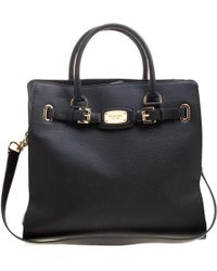 MICHAEL Michael Kors - Leather North South Hamilton Tote - Lyst