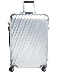 Tumi 19 Degree Aluminum Extended Trip Packing Case Luggage - Metallic
