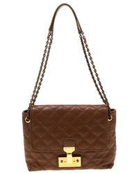 Marc Jacobs Single Brown Leather Handbag